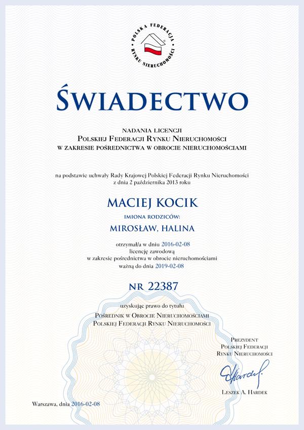 licencja-posrednika-Maciej-Kocik-22387